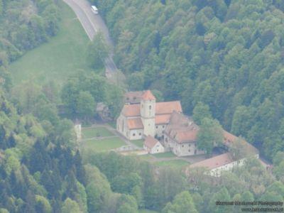 Czerwony Klasztor - widok z Trzech Koron